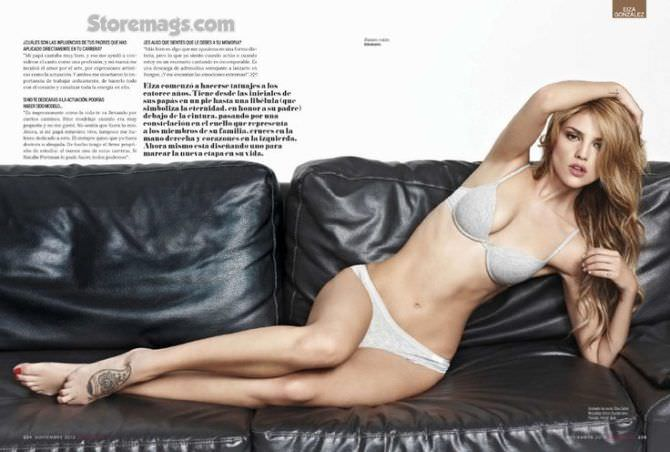 Эйса Гонсалес фотосессия в журнале 2013
