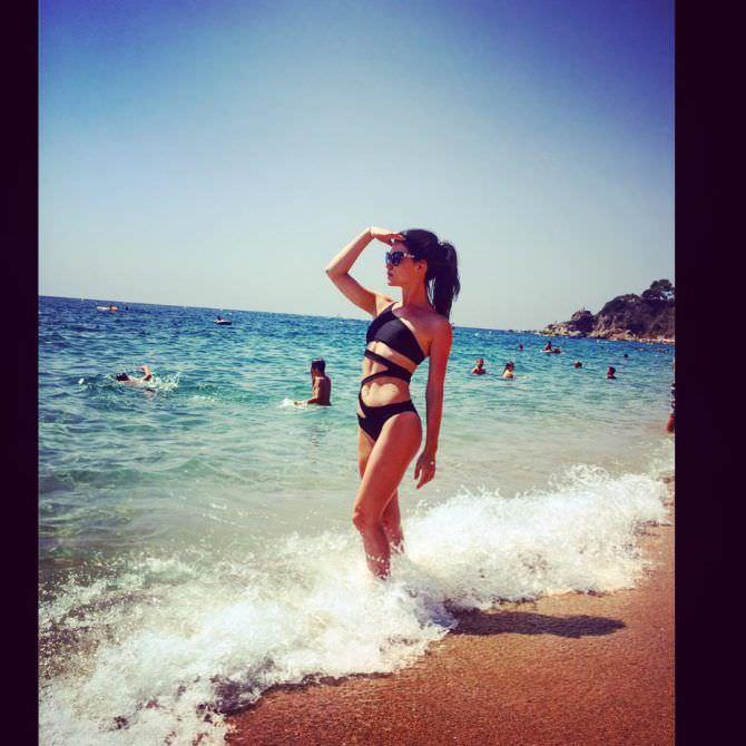 Дарья Мингазетдинова фотография на пляже в инстаграм