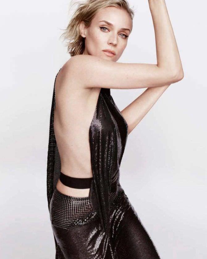 Диана Крюгер фотография в платье в инстаграм