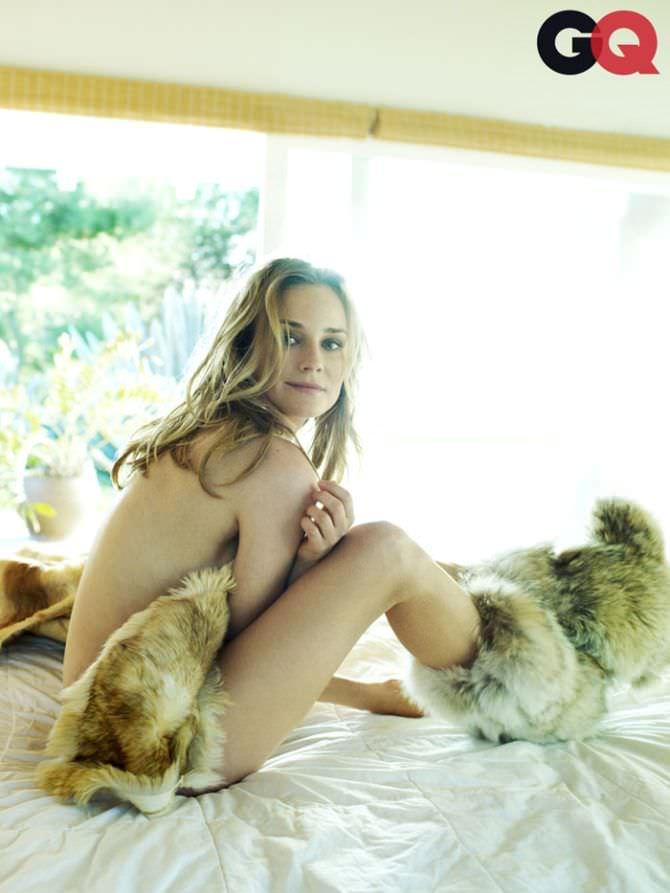 Диана Крюгер фото в журнале в 2011