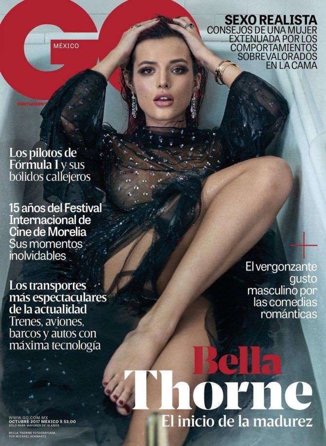 Белла Торн фотография с обложки журнала