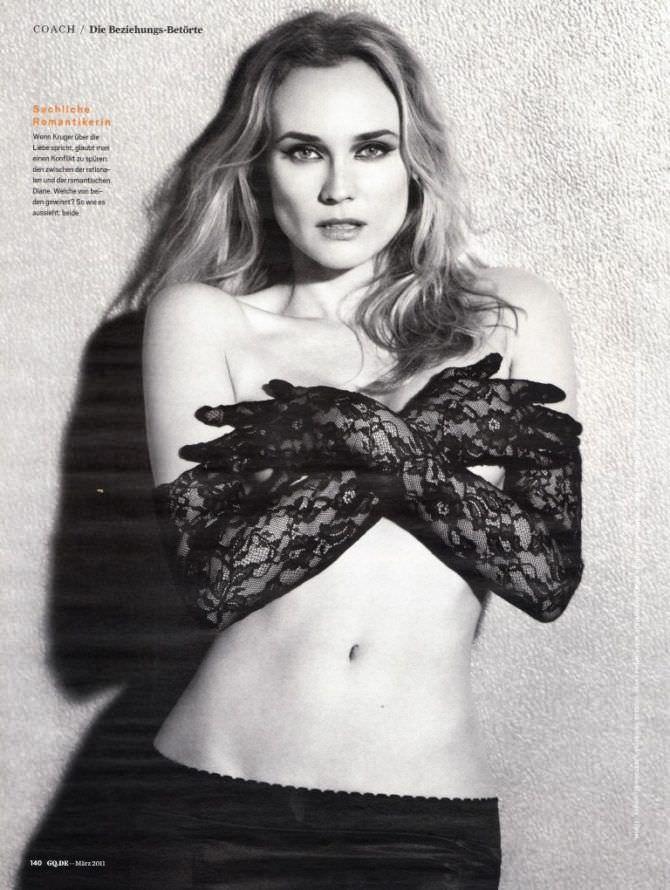 Диана Крюгер фото в журнале 2011