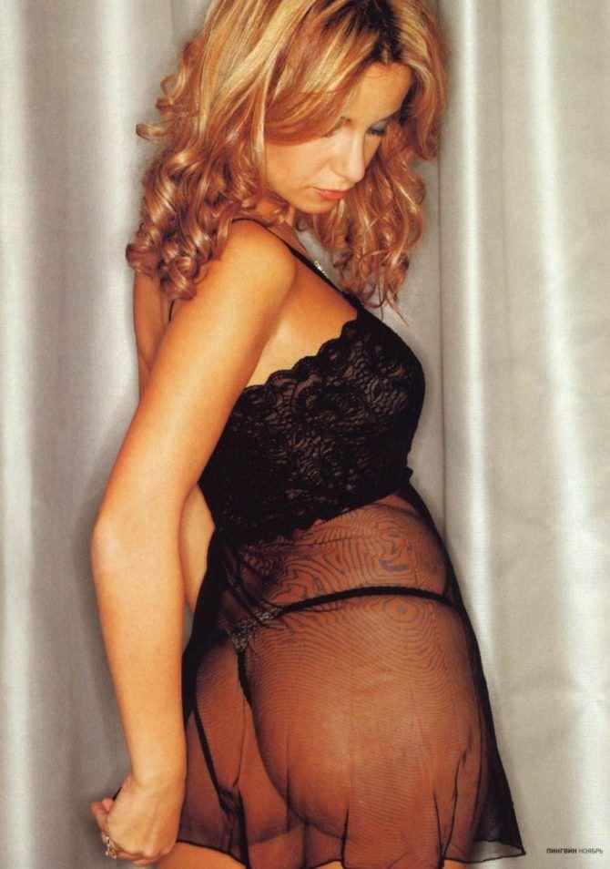 Ольга Орлова фото в нижнем белье для журнала