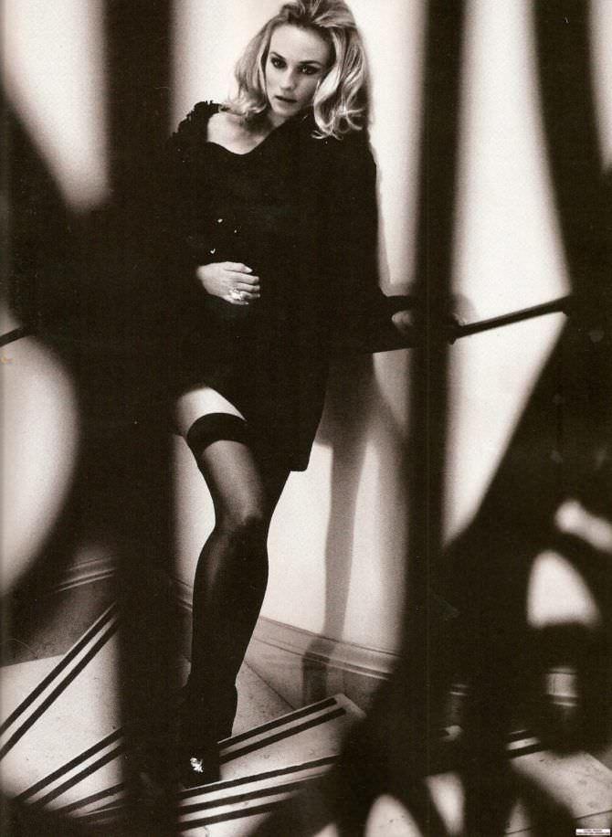Диана Крюгер фотосессия в нижнем белье