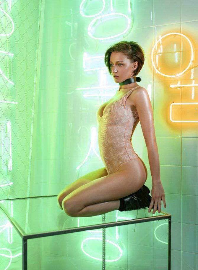 Евгения Крегжде фотография в белье в максим