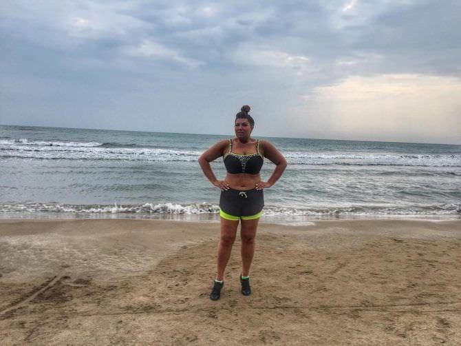 Екатерина Скулкина фото на пляже