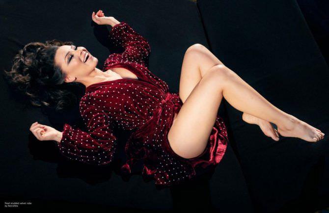 Джессика Паркер Кеннеди фото в вечернем платье