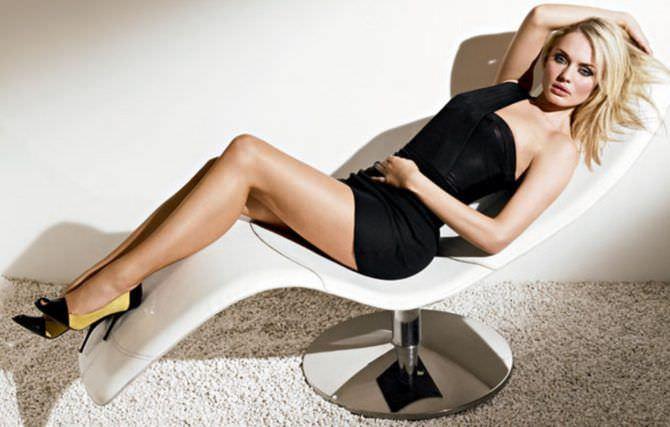 Лора Хэддок фотография в чёрном платье