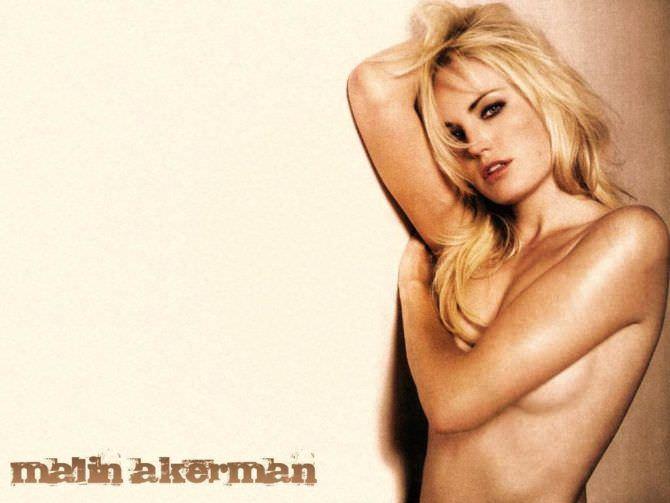 Малин Акерман фотография без одежды