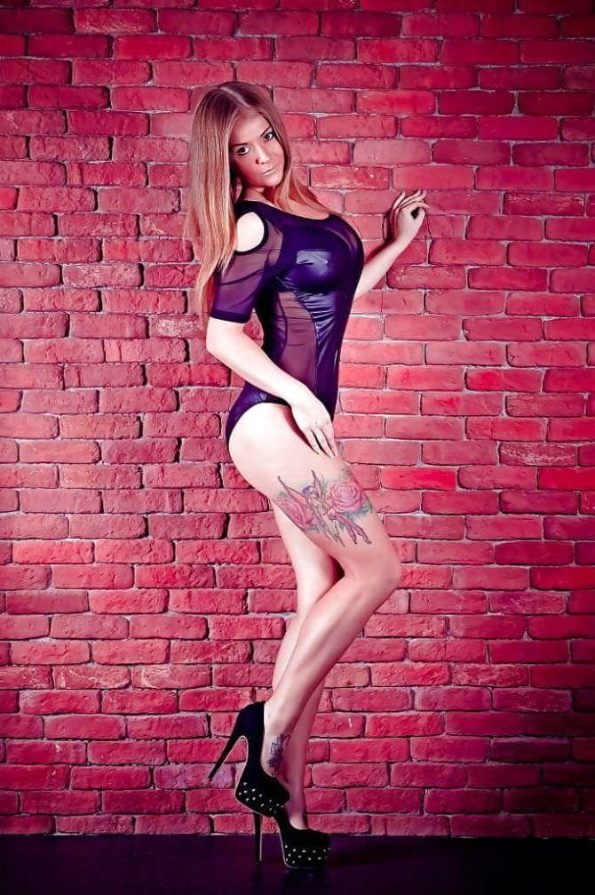 Софья Темникова фотосессия в боди