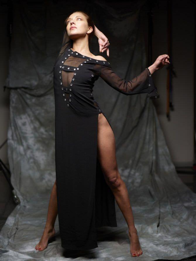 Серафима Низовская фотосессия в вечернем платье