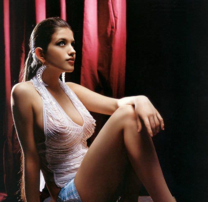 Анна Чиповская фотография в белом платье