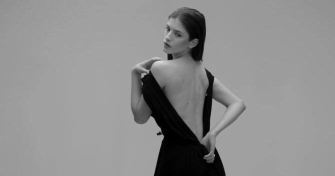 Анна Чиповская фотосессия в вечернем платье