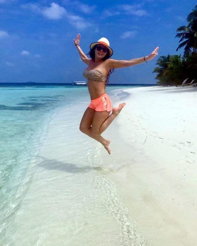 Наталья Бочкарева фото на пляже