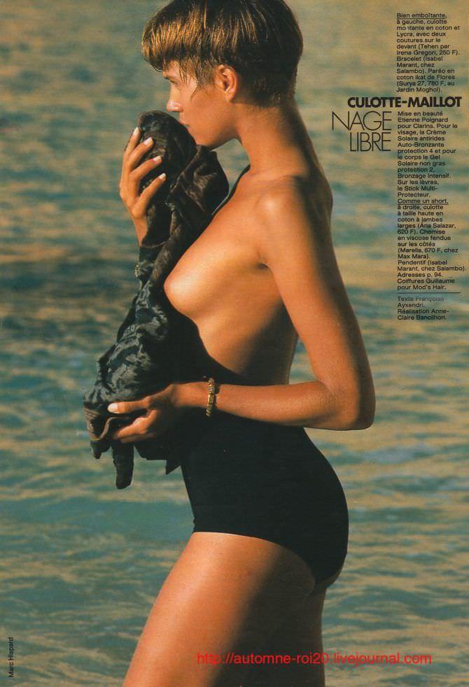 Эмма Сьоберг фото в купальнике из журнала