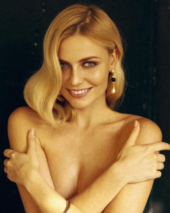 Елена Чернявская фотография с красивым макияжем