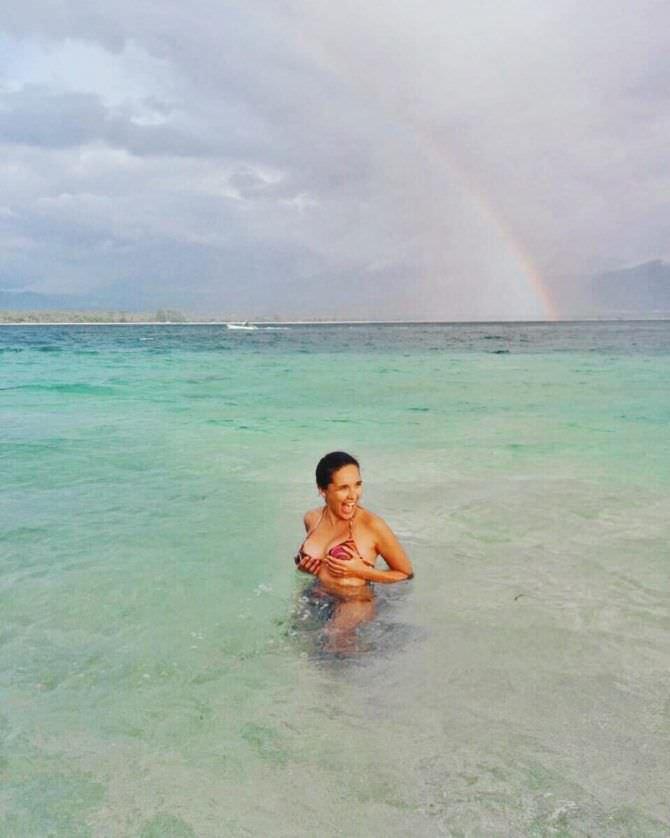Ольга Дибцева фотография с радугой