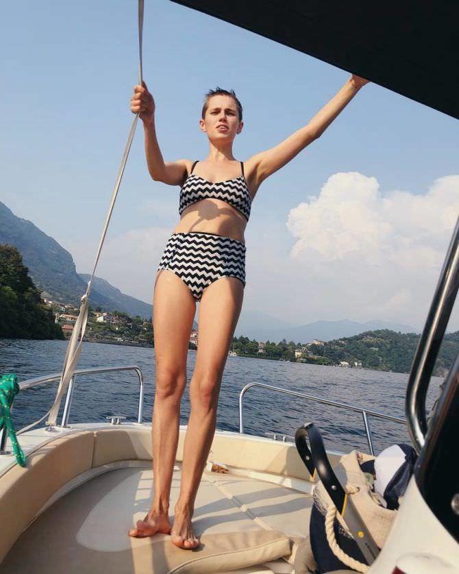 Дарья Мельникова фотография на яхте