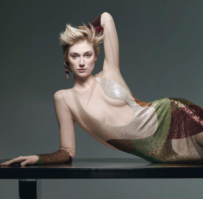 Элизабет Дебики фото в красивом платье