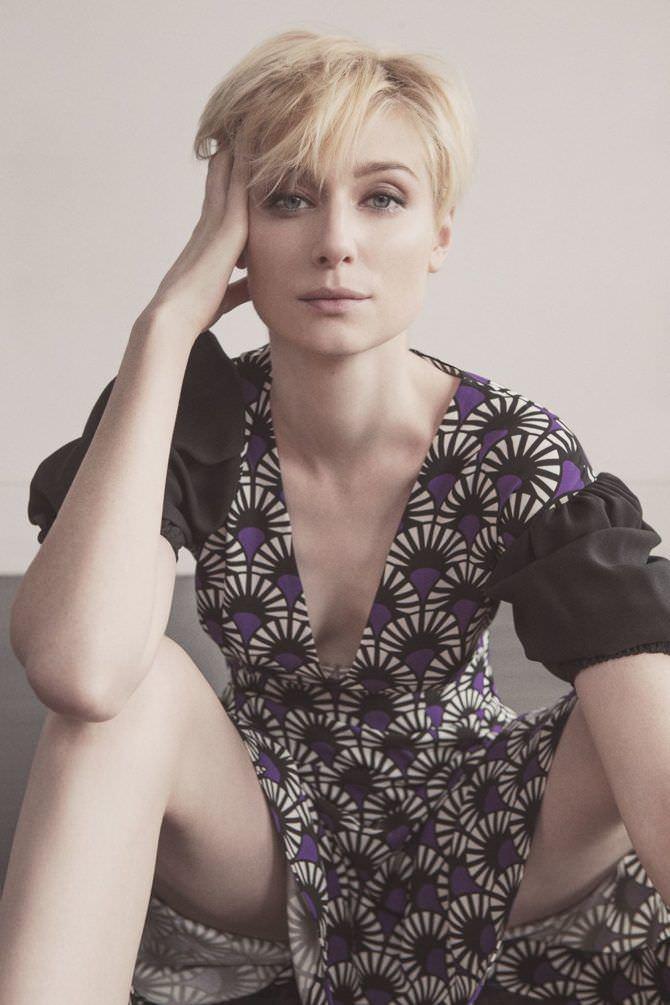 Элизабет Дебики фото в летнем платье