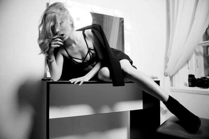 Анна Кошмал фотография в нижнем белье