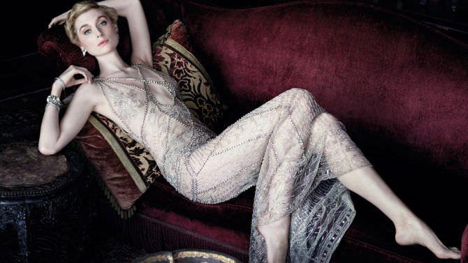 Элизабет Дебики фотография в вечернем платье