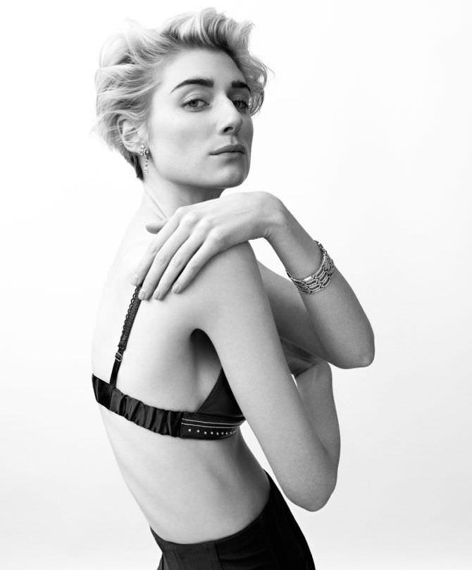 Элизабет Дебики фото в нижнем белье для журнала