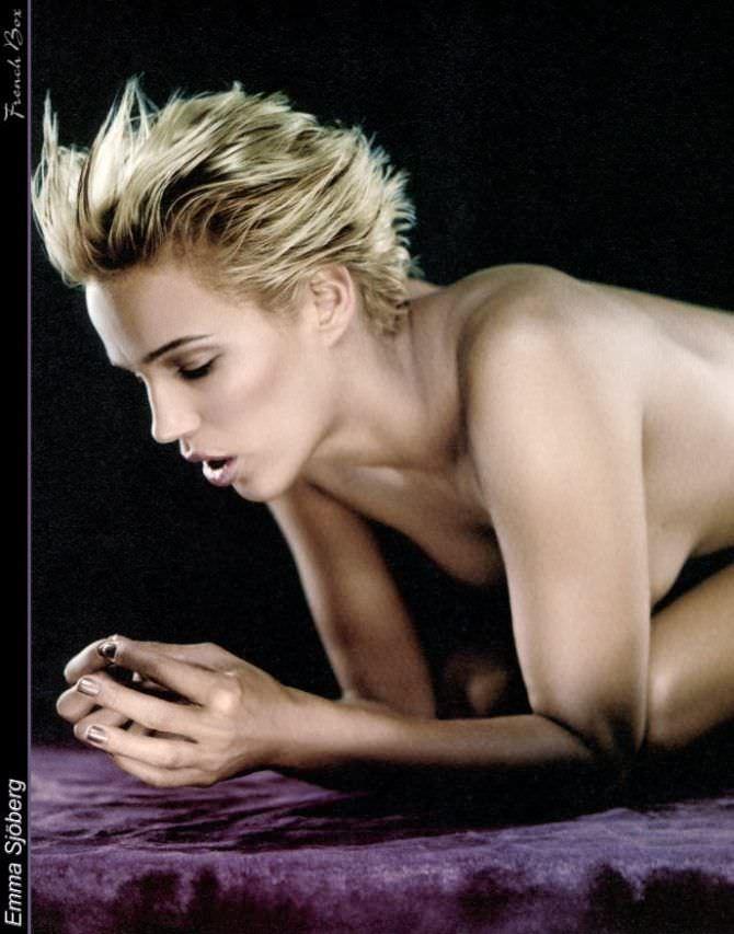 Эмма Сьоберг красивое фото