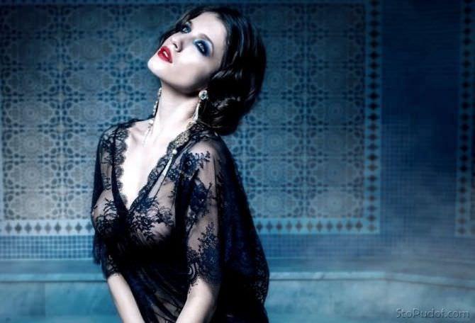 Анна Чиповская красивое фото для журнала