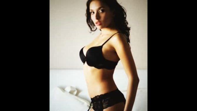 Ольга Дибцева фотосессия в нижнем белье