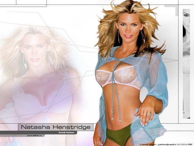 Наташа Хенстридж Фото для журнала 2002