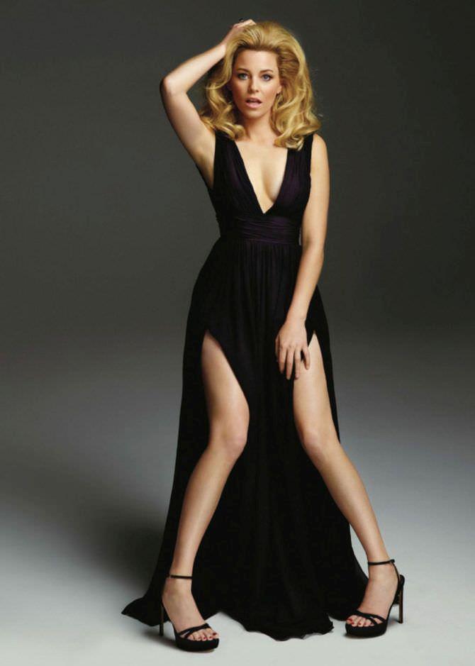 Элизабет Бэнкс фото в чёрном платье