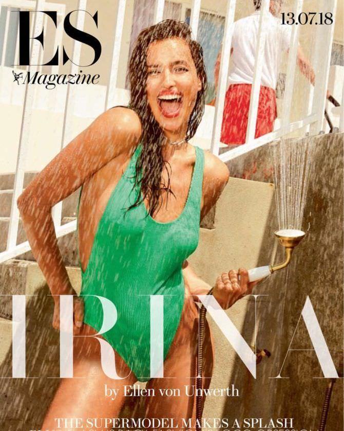 Ирина Шейк фото со струёй воды