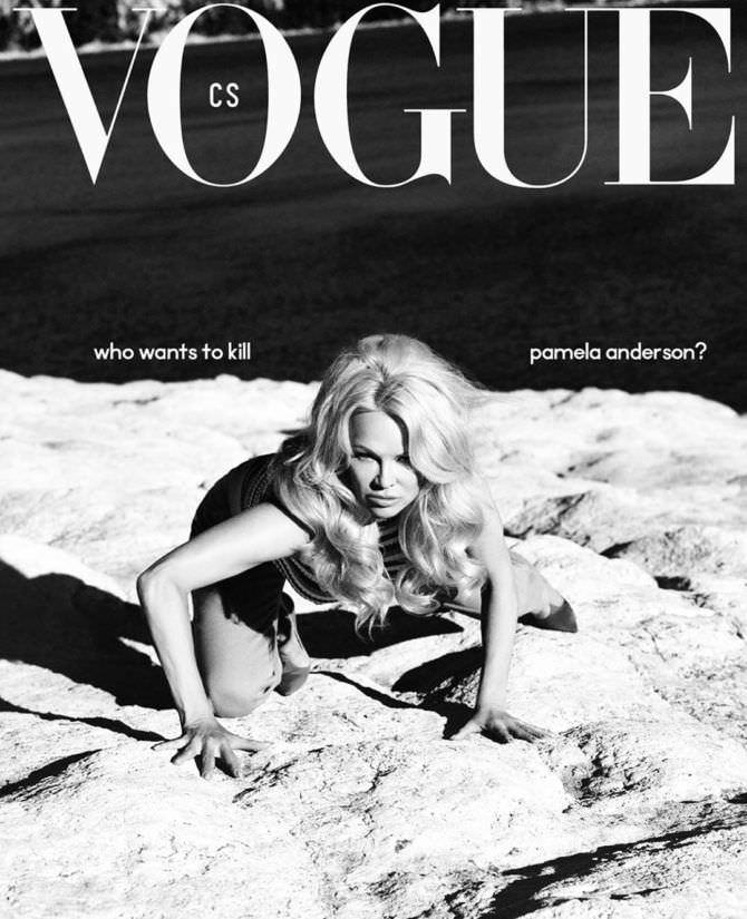Памела Андерсон фото журнала в инстаграм