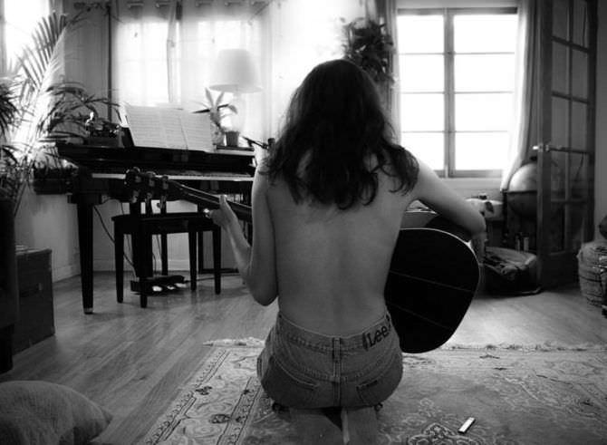 Кортни Итон фотография в инстаграм