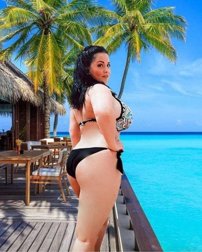 Рима Пенджиева фото в бикини в инстаграм