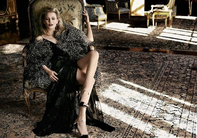 Элизабет Бэнкс фотография для журнала в платье