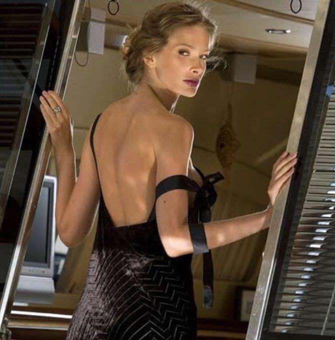 Александра Флоринская фотосессия в вечернем платье