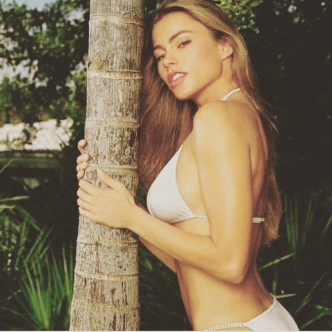 София Вергара фото в бикини в инстаграм