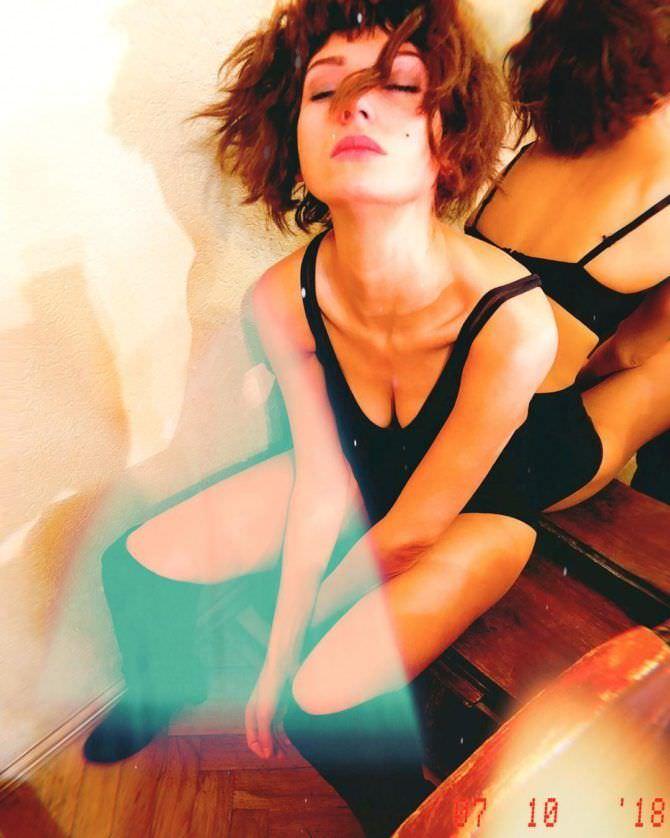 Кристина Асмус фотография из гримёрки