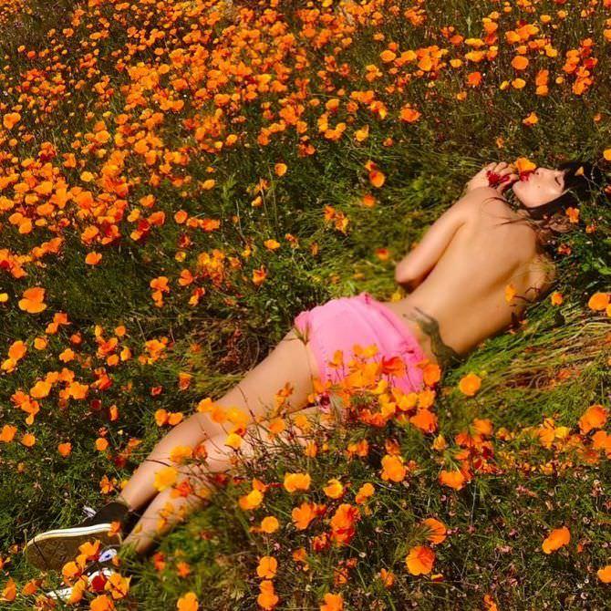 Бай Лин фотография в поле