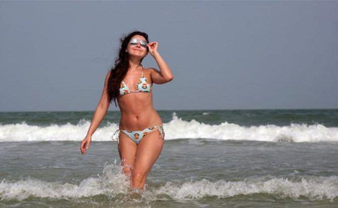 Валентина Рубцова фото в купальнике на море