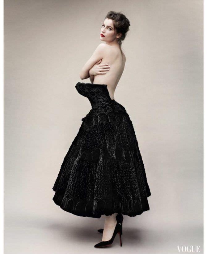 Летиция Каста фотография в пышном платье