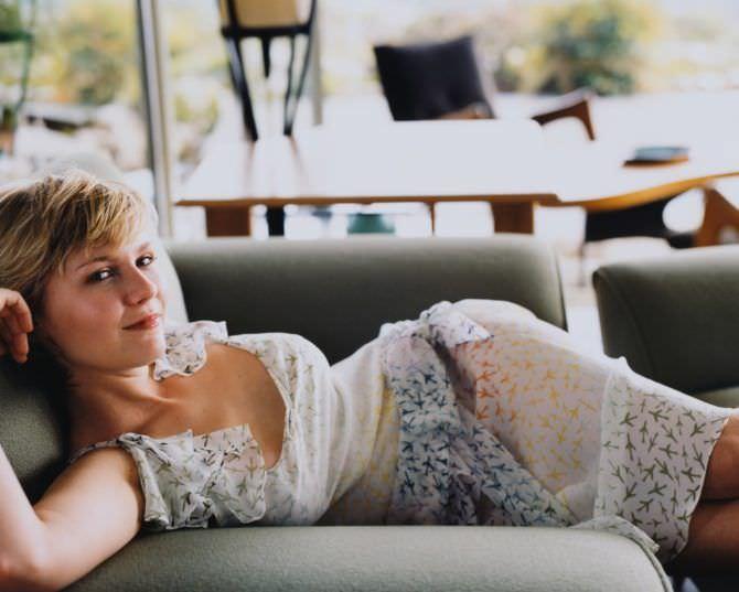 Кирстен Данст фотография в красивом платье