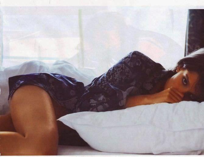 Анастасия Иванова Фотосессия в журнале Maxim в нижнем белье