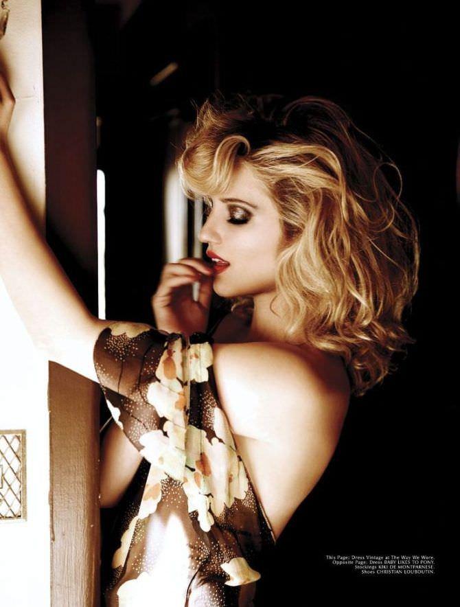 Дианна Агрон фотография в красивом платье