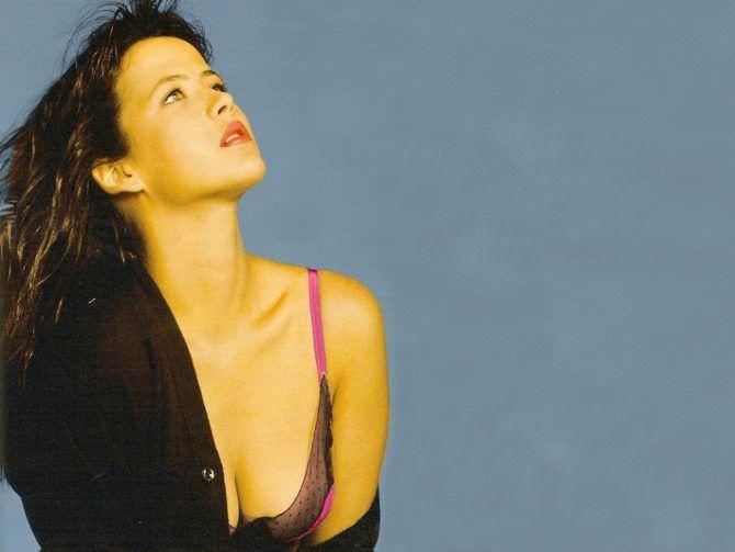 Софи Марсо фотография в молодости