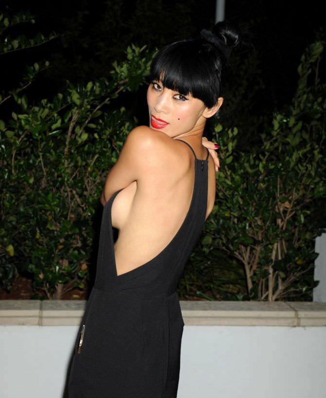Бай Лин фотография в чёрном вечернем платье