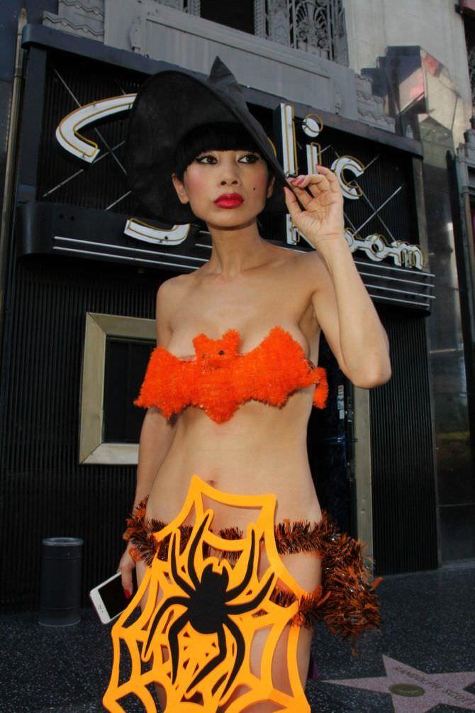 Бай Лин фотография в костюме на хэллоуин