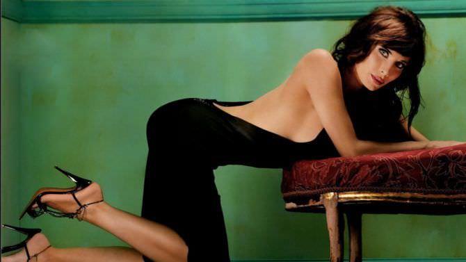 Пилар Рубио фотография в вечернем платье